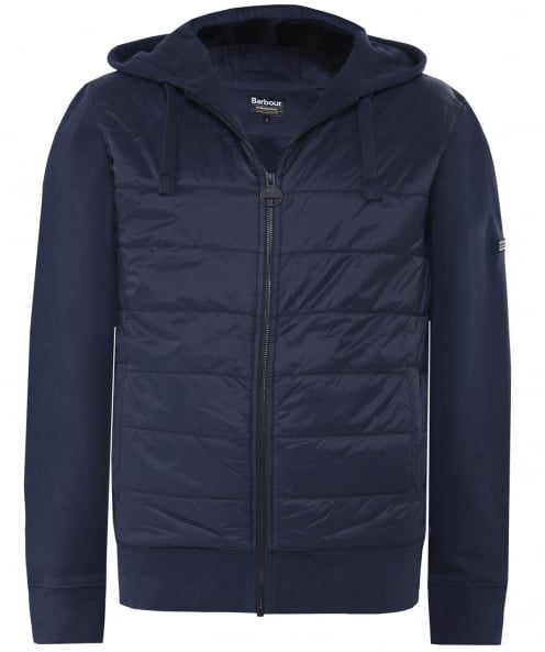 Barbour International Baffle Quilted Hoodie