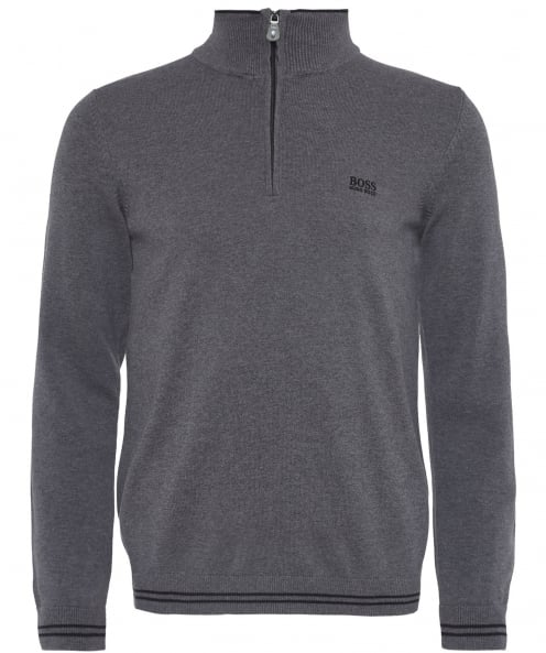 BOSS Half-Zip Zime_S18 Jumper