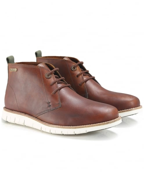 Barbour Leather Burghley Chukka Boots