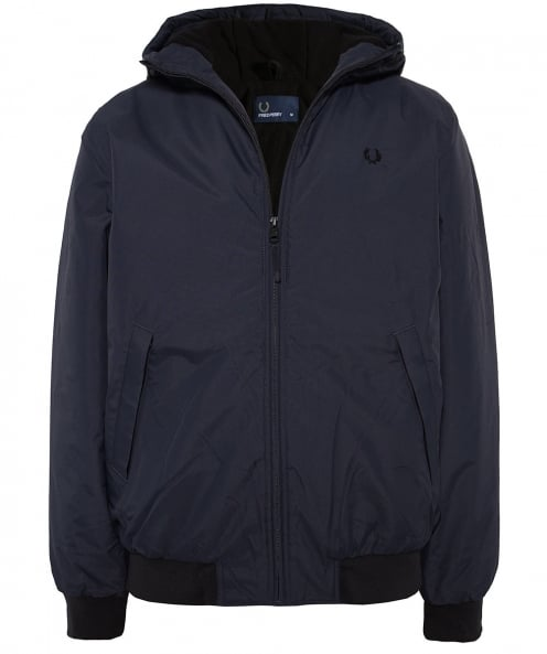Fred Perry Padded Hooded Brentham Jacket