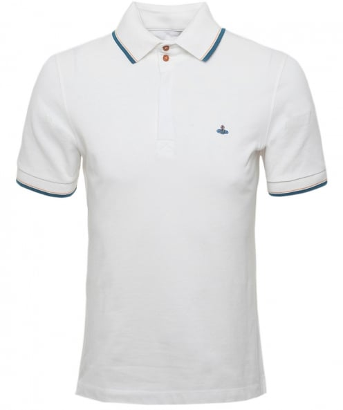 Vivienne Westwood Man Organic Cotton Overlock Polo Shirt