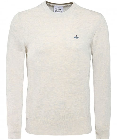 Vivienne Westwood Man Knitted Cotton Crew Neck Jumper
