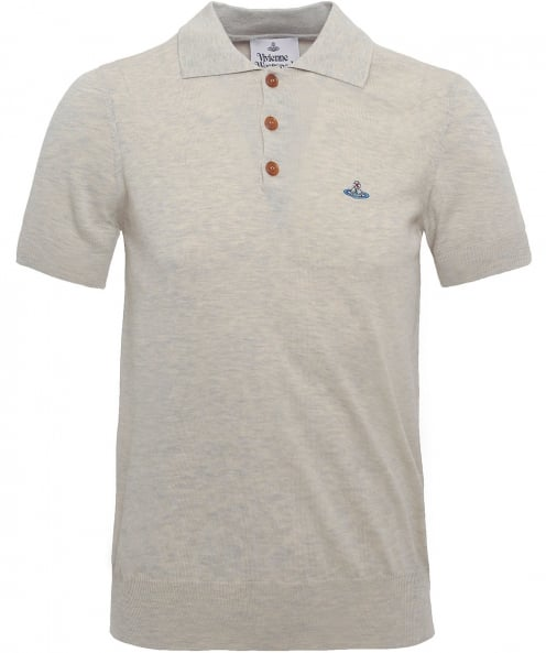 Vivienne Westwood Man Knitted Cotton Spring Polo Shirt