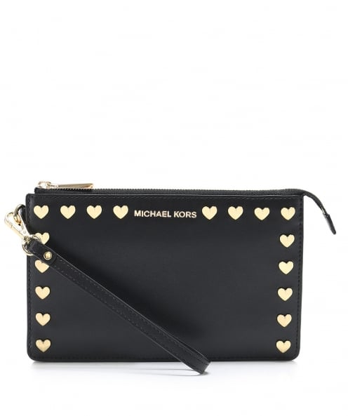 MICHAEL Michael Kors Polished Leather Wristlet