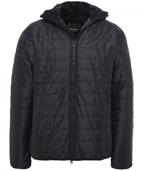 Barbour International Quilted Hooded Level Jacket