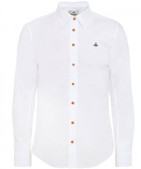 Vivienne Westwood Man Stretch Poplin Cotton Shirt
