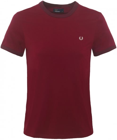 Fred Perry Crew Neck Ringer T-Shirt