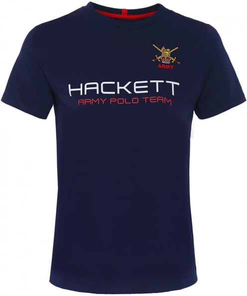 Hackett Classic Fit Army Polo T-Shirt