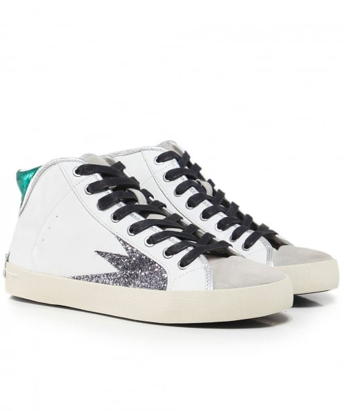 Crime London Faith Explosion High Top Trainers