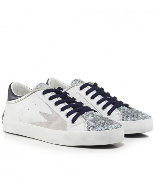 Crime London Sequin Faith Explosion Trainers