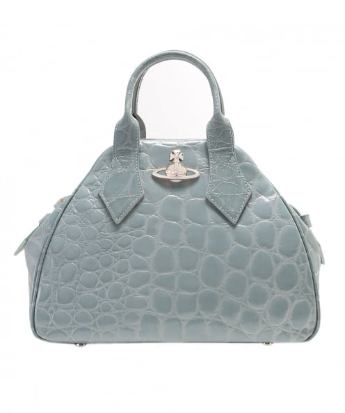Vivienne Westwood Accessories Medium Yasmin Croc Print Bag