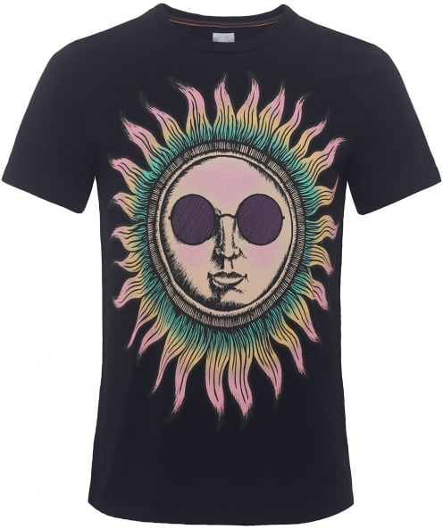 Paul Smith Slim Fit Sun Print T-Shirt