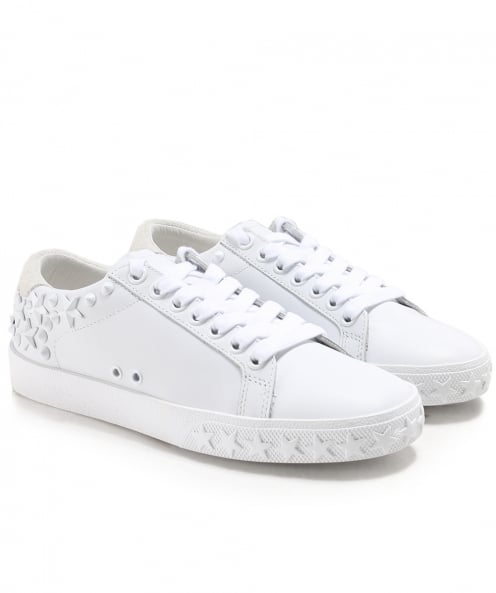 Ash Studded Leather Dazed Trainers