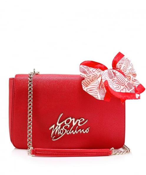 Moschino Love Moschino Leather Shoulder Bag