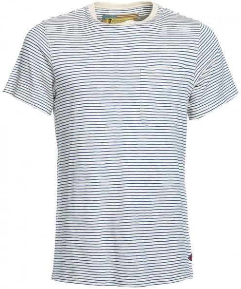 Barbour International Crew Neck Striped Patrol T-Shirt