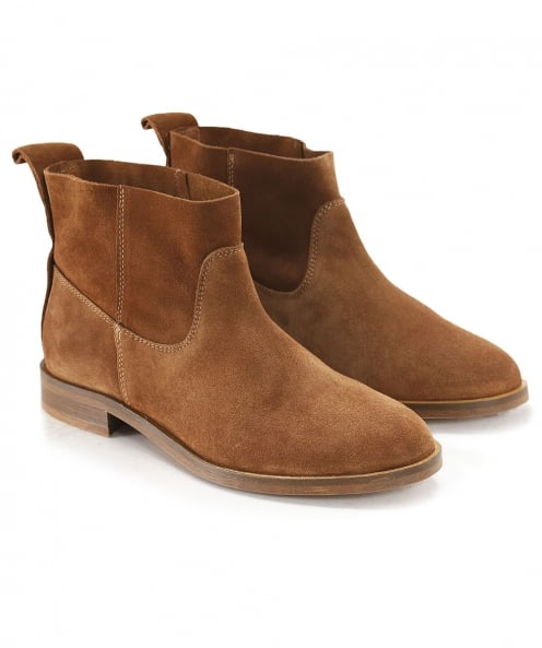 H by Hudson Suede Odina Ankle Boots