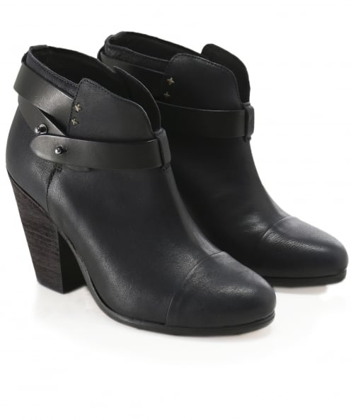 Rag and Bone Leather Harrow Boots