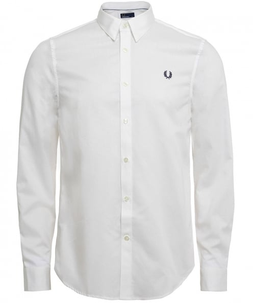 Fred Perry Cotton Tape Trim Shirt