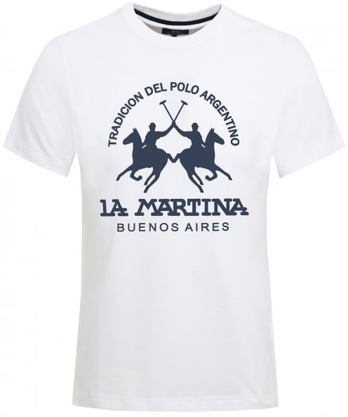 La Martina Crew Neck Barret T-Shirt