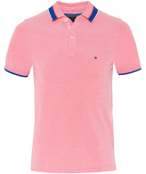 Tommy Hilfiger Slim Fit Oxford Cotton Polo Shirt