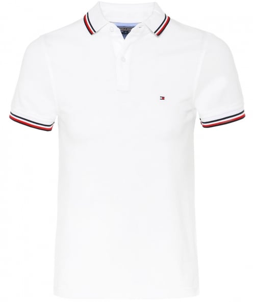 Tommy Hilfiger Slim Fit Pique Polo Shirt