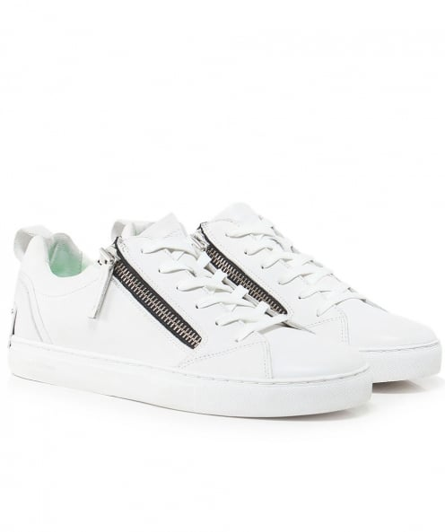 Crime London Leather Java Trainers