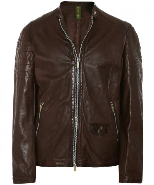 Delan Leather Leather T 307 Biker Jacket