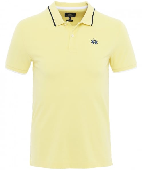 La Martina Slim Fit Pique Mendez Polo Shirt