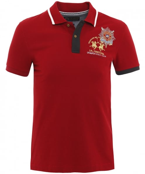 La Martina Slim Fit Pique Adan Polo Shirt