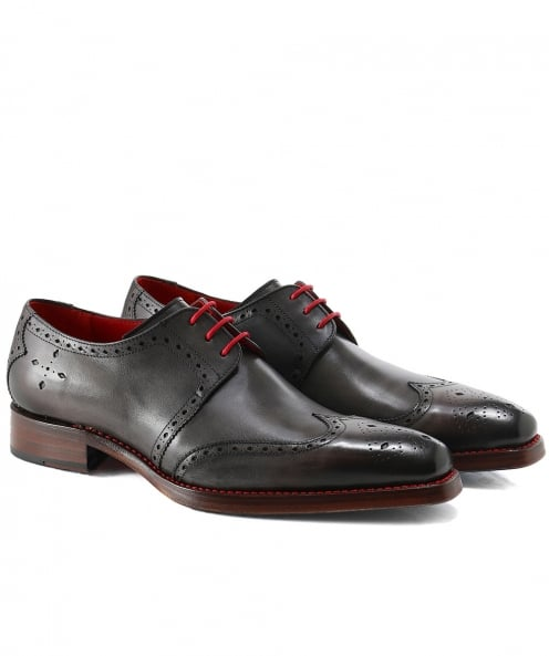 Jeffery-West Leather Bay Dexter Wing-Tip Shoes