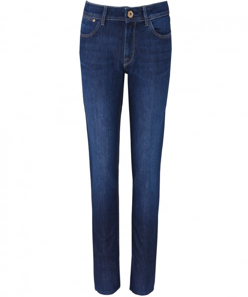 DL1961 Solo Wash Coco Curvy Straight Jeans