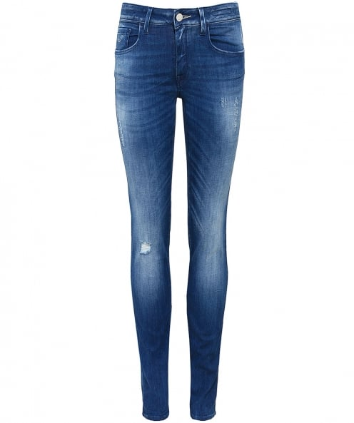 Jacob Cohen Low Rise Jocelyn Skinny Jeans