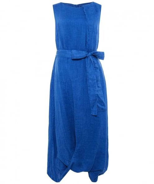 Grizas Washed Linen Midi Dress