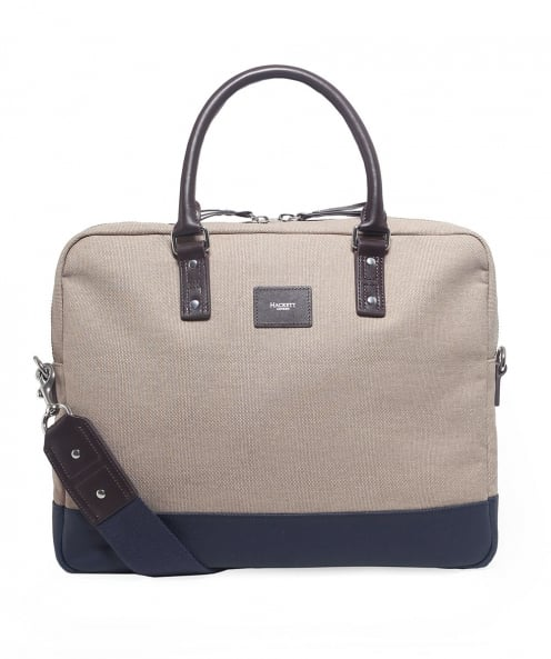 Hackett Canvas Jackson Document Bag