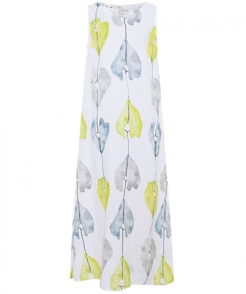 Grizas Linen Printed Maxi Dress