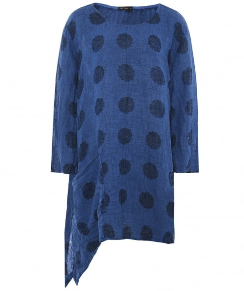 Grizas Linen Spotted Tunic