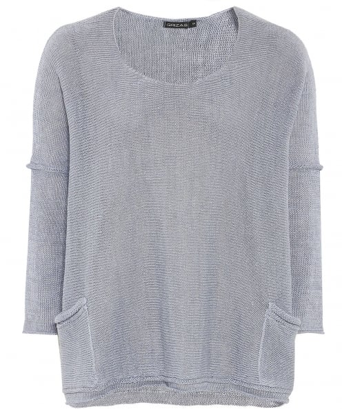 Grizas Linen Knitted Jumper