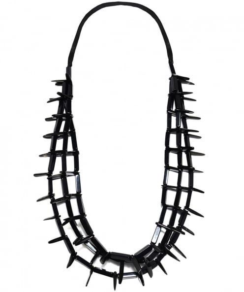 Zen Jewellery Long Horn Effect Spike Necklace