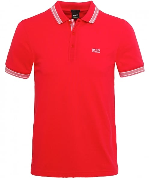 BOSS Regular Fit Paddy Polo Shirt