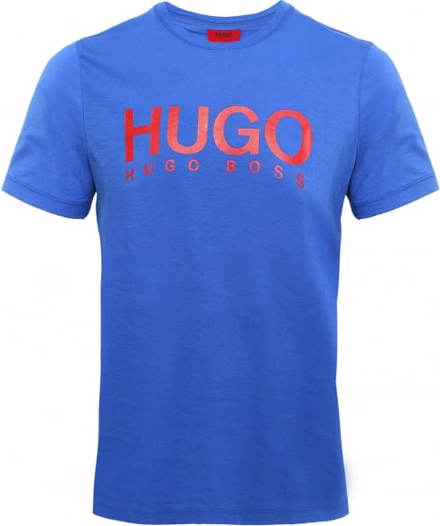 HUGO Relaxed Fit Crew Neck Dolive T-Shirt