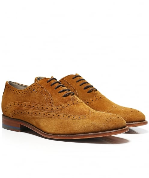 Oliver Sweeney Suede Fellbeck Oxford Shoes