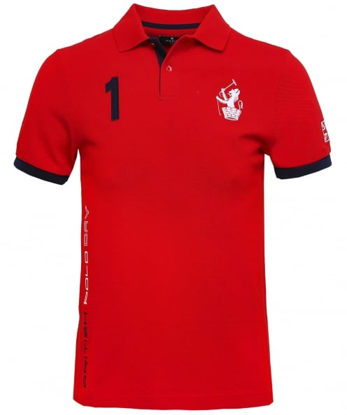 Hackett Slim Fit Spain Polo Shirt