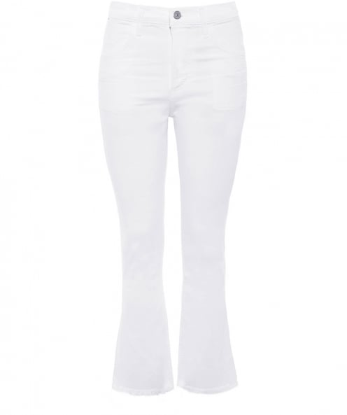 Citizens of Humanity High Rise Drew Crop Flare Jeans