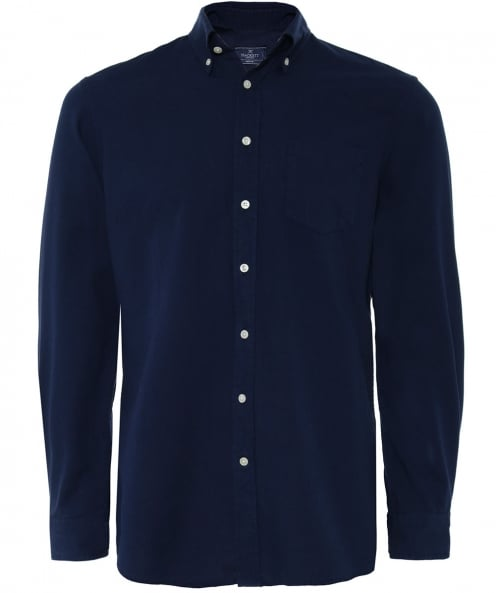 Hackett Classic Fit Délavé Oxford Shirt