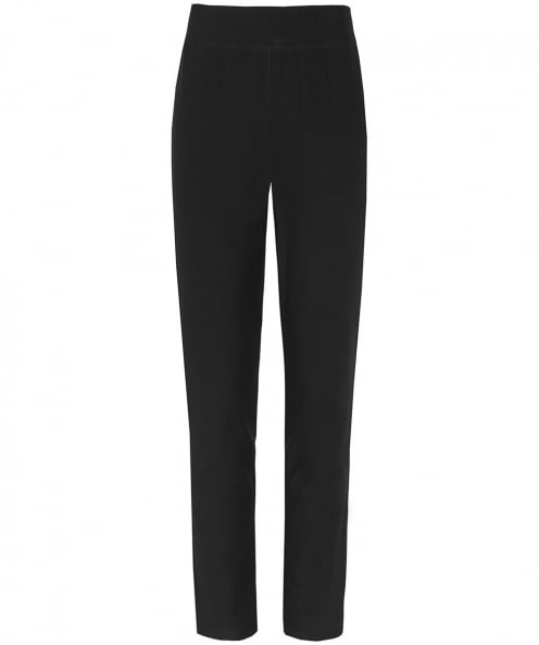 Eileen Fisher Slim Fit Crepe Trousers