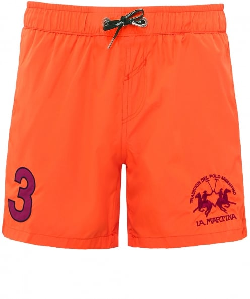 La Martina Numbered Swim Shorts