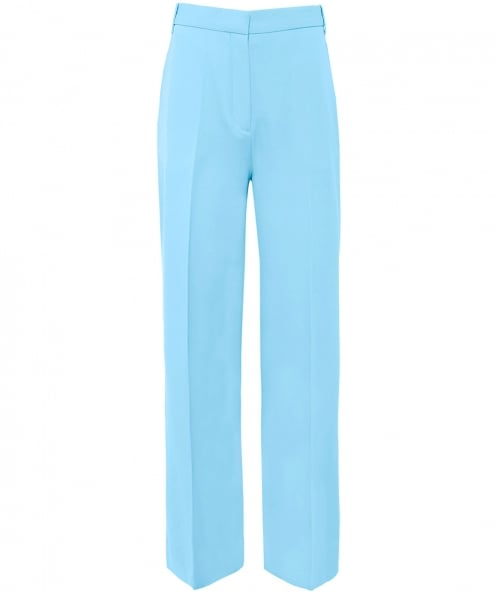 Victoria Victoria Beckham Wide Leg Wool Trousers