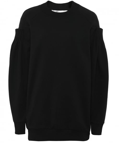 Victoria Victoria Beckham Cotton Pleated Jumper