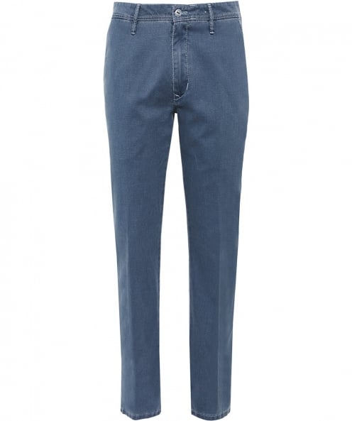 MMX Textured Cotton Lupus Trousers