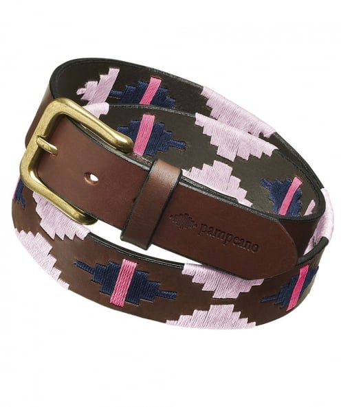 Pampeano Leather Rosa Polo Belt